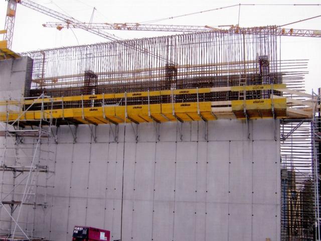 Neue Bau Lagerhalle für Radioaktive Abfalle in KKW bei HAMBURG