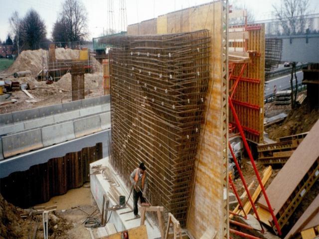 BV Vogelsdorf Brücken Baustelle