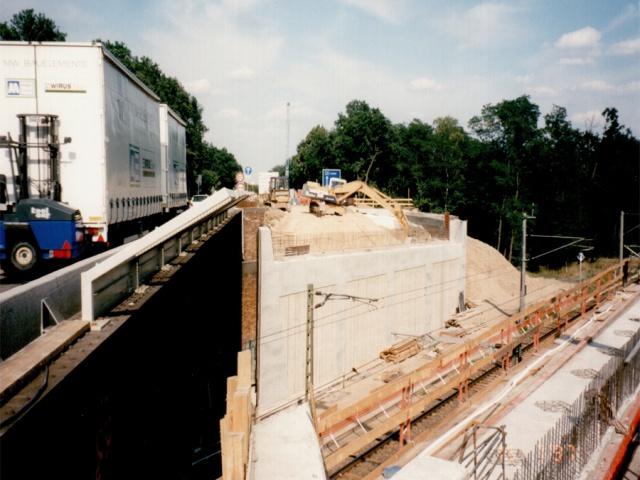 Neue Autobahn Brücke Verder